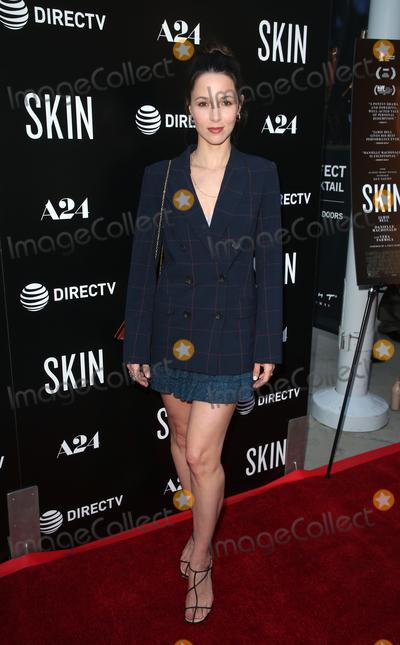 Alona Tal Photo - 11 July 2019 - Hollywood California - Alona Tal The Los Angeles Special Screening of Skin held at ArcLight Hollywood Photo Credit Faye SadouAdMedia