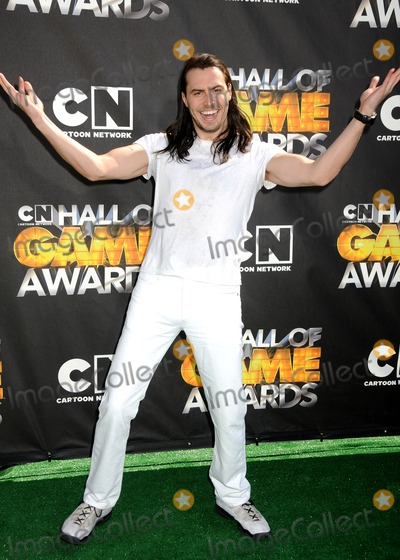 Andrew W K Photo - 21 February 2011 - Santa Monica California - Andrew WK 1st Annual Cartoon Network Hall of Game Awards held at Barker Hangar Photo Byron PurvisAdMedia