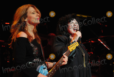 Ann Wilson Photo - 09 February 2011 - Hamilton Ontario Canada - Heart Musicians Nancy Wilson and Ann Wilson of Heart perform onstage at Hamilton Place during the Heart Comes Home - Canada Tour Photo Brent PerniacAdMedia