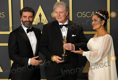 Salma Hayek Photo - 09 February 2020 - Hollywood California -   Donald Sylvester Oscar Isaac Salma Hayek attend the 92nd Annual Academy Awards presented by the Academy of Motion Picture Arts and Sciences held at Hollywood  Highland Center Photo Credit Theresa ShirriffAdMedia