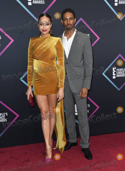 Amber Stevens Photo - 11 November 2018 - Santa Monica California - Amber Stevens West Damon Wayans Jr  2018 E Peoples Choice Awards - Arrivals  held at Barker Hangar Photo Credit Birdie ThompsonAdMedia