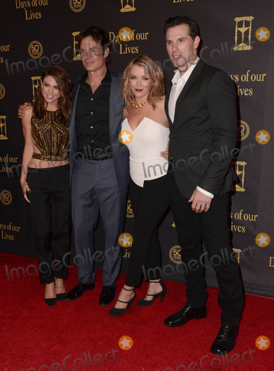 Austin Peck Photo - 07 November - Hollywood Ca - Kate Mansi Patrick Muldoon Christie Clark Austin Peck Arrivals for Days of Our Lives 50th Anniversary held Hollywood Palladium Photo Credit Birdie ThompsonAdMedia