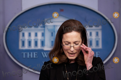 Executive Director Photo - Co-Chair and Executive Director of the Gender Policy Council Jennifer Klein speaks during a press briefing at the White House in Washington DC on Monday March 8 2021 Today President Biden signed an executive order on to establish the Gender Policy Council that will work to advance gender equalityCredit Kevin Dietsch  Pool via CNPAdMedia