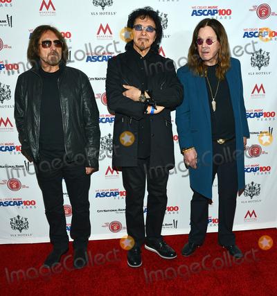 Tony Iommi Photo - 25 January 2014 - Los Angeles California - Geezer Butler Tony Iommi and Ozzy Osbourne - Black Sabbath ASCAP presents the 2014 Grammy Nominee Brunch held at the SLS Hotel Photo Credit Christine ChewAdMedia