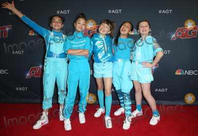 Hollies Photo - 13 August 2019 - Hollywood California - Ava Ro Holly Gorski Michela Luci Sarah De Carvalho Sienna Pesino Of GForce Americas Got Talent Season 14 Live Show Red Carpet held at Dolby Theatre Photo Credit FSadouAdMedia