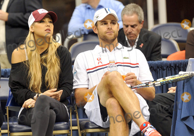 Anna Kournikova Photo - 16 October 2012 - Pittsburgh PA - Tennis stars ANNA KOURNIKOVA and ANDY RODDICK participated with TEAM ELTON at the Mylan WTT Smash Hits World Team Tennis Match held at the Petersen Events Center The 20th anniversary edition of Mylan WTTSmash Hits presented by GEICO was one for the record books with the event posting a record 1 million for the Elton John AIDS Foundation with a portion of those proceeds benefitting the Pittsburgh AIDS Task Force Theevent hosted annually by Sir Elton John and Billie Jean King has now raised more the 115 million to support HIV and AIDS prevention and awareness programs since the first Smash Hits was held in Los Angeles in 1993  Photo Credit Jason L NelsonAdMedia