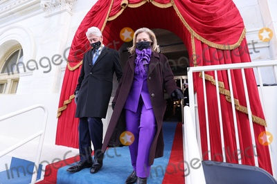 President Bill Clinton Photo - Former US President Bill Clinton and his wife Hillary Clinton arrive before the inauguration of Joe Biden as the 46th President of the United States on the West Front of the US Capitol in Washington US January 20 2021 REUTERSJonathan ErnstPoolAdMedia