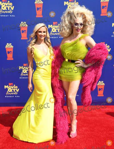 Alyssa Edwards Photo - 15 June 2019 - Santa Monica California - Alyssa Edwards 2019 MTV Movie and TV Awards held at Barker Hangar Photo Credit Birdie ThompsonAdMedia