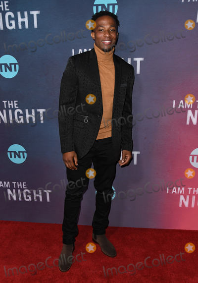 Arlen Escarpeta Photo - 24 January 2019 - Los Angeles California - Arlen Escarpeta TNTs I Am the Night Los Angeles Premiere held at Harmony Gold Photo Credit Birdie ThompsonAdMedia