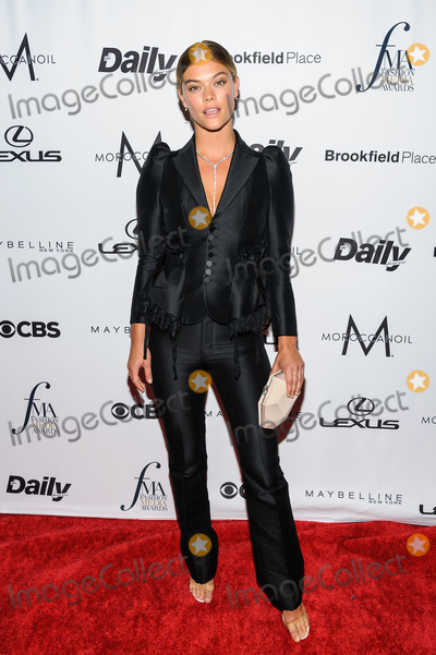 Nina Agdal Photo - 08 September 2016 - New York New York- Nina Agdal Daily Front Rows Fourth Annual Fashion Media Awards Photo Credit Mario SantoroAdMedia
