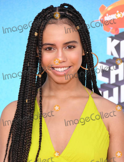 Asia Monet Photo - 23 March 2019 - Los Angeles California - Asia Monet 2019 Nickeldeon Kids Choice Awards held at The USC Galen Center Photo Credit Birdie ThompsonAdMedia