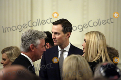 Benjamin Netanyahu Photo - White House Adviser Jared Kushner attends a meeting with United States President Donald J Trump and Israels Prime Minister Benjamin Netanyahu in the East Room of the White House in Washington DCon Tuesday January 28 2020 Credit Joshua Lott  CNPAdMedia