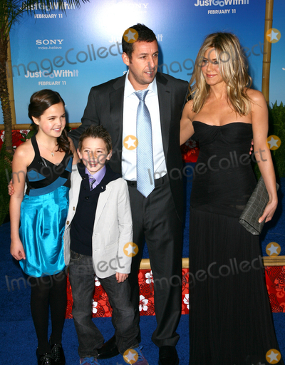 Bailee Madison Photo - 08 February 2011 - New York NY - Bailee Madison Griffin Alexander Adam Sandler and Jennifer Aniston The premiere of Just Go With It at the Ziegfeld Theatre on February 8 2011 in New York City Photo Paul ZimmermanAdMedia