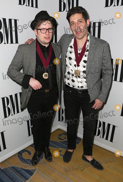 Joe Trohman Photo - 10 May 2016 - Beverly Hills California - Patrick Stump Joe Trohman Fall Out Boy 64th Annual BMI Pop Awards held at the Beverly Wilshire Four Seasons Hotel Photo Credit SammiAdMedia