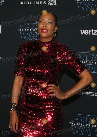 Aisha Tyler Photo - 16 December 2019 - Hollywood California - Aisha Tyler Premiere Of Disneys Star Wars The Rise Of Skywalker  held at El Capitan theatre Photo Credit FSAdMedia
