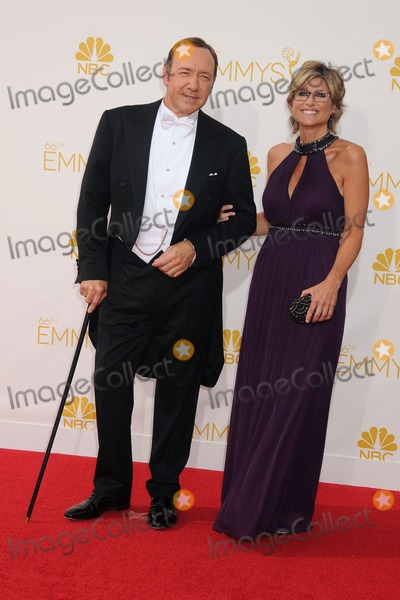 Ashleigh Banfield Photo - 25 August 2014 - Los Angeles California - Kevin Spacey Ashleigh Banfield 66th Annual Primetime Emmy Awards - Arrivals held at Nokia Theatre LA Live Photo Credit Byron PurvisAdMedia