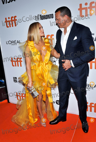 Alex Rodriguez Photo - 07 September 2019 - Toronto Ontario Canada - Jennifer Lopez Alex Rodriguez 2019 Toronto International Film Festival - Hustlers Premiere held at Roy Thomson Hall Photo Credit Brent PerniacAdMedia