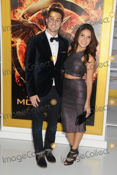 Alexys Gabrielle Photo - 17 November 2014 - Los Angeles California - Cody Johns Alexys Gabrielle The Hunger Games Mockingjay - Part 1 Los Angeles Premiere held at Nokia Theatre LA Live Photo Credit Byron PurvisAdMedia