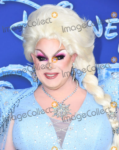 Nina West Photo - 07 November 2019 - Hollywood California - Nina West Disneys Frozen 2 Los Angeles Premiere held at Dolby Theatre Photo Credit Birdie ThompsonAdMedia