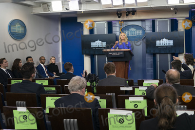 Kayleigh McEnany Photo - White House Press Secretary Kayleigh McEnany holds a briefing at the White House in Washington DC on Tuesday December 15 2020Credit Chris Kleponis  Pool via CNP