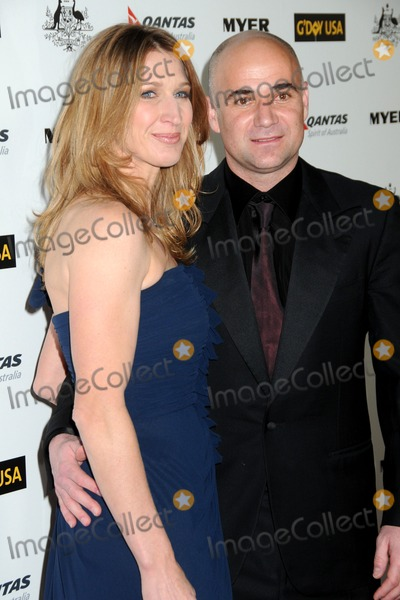 Andre Agassi Photo - 22 January 2011 - Hollywood California - Steffi Graf and Andre Agassi 2011 GDay USA Los Angeles Black Tie Gala held at the Hollywood Palladium Photo Byron PurvisAdMedia