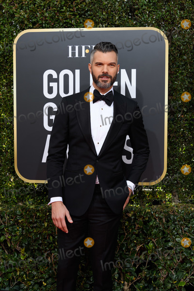 AJ Gibson Photo - 06 January 2018 - Beverly Hills California - AJ Gibson 76th Annual Golden Globe Awards held at the Beverly Hilton Photo Credit HFPAAdMedia