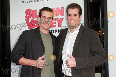 Tyler Winklevoss Photo - 02 April 2015 - West Hollywood California - Cameron Winklevoss Tyler Winklevoss attends Los Angeles Premiere for the second season of the HBO comedy series Silicon Valley held at the El Capitan Theatre Photo Credit Theresa BoucheAdMedia