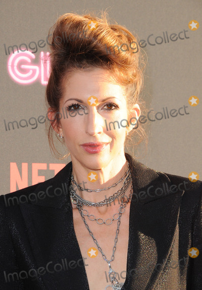 Alysia Reiner Photo - 21 June 2017 - Hollywood California - Alysia Reiner Netflixs Glow Los Angeles premiere held at Theater at Arclight Hollywood in Hollywood Photo Credit Birdie ThompsonAdMedia