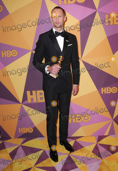 Alexander Skarsgard- Photo - 07 January 2018 - Beverly Hills California - Alexander Skarsgard 2018 HBO Golden Globes After Party held at The Beverly Hilton Hotel in Beverly Hills Photo Credit Birdie ThompsonAdMedia
