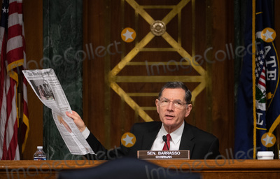 John Barrasso Photo - United States Senator John Barrasso (Republican of Wyoming) holds newspaper at a hearing titled Oversight of the Environmental Protection Agency before the US Senate Environment and Public Works Committee in the Dirksen Senate Office Building on May 20 2020 in Washington DC  EPA Administrator Andrew Wheeler will be asked about the rollback of regulations by the Environment Protection Agency since the pandemic started in March  Credit Kevin Dietsch  Pool via CNPAdMedia