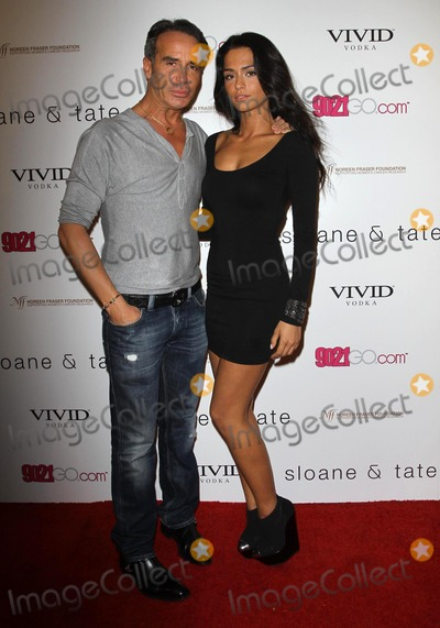 Antoinette Nikprelaj Photo - 17 November 2011 - West Hollywood California - Lloyd Klein Antoinette Nikprelaj Sloan  Tate Launch Party Held at Siren Studios Photo Credit Kevan BrooksAdMedia