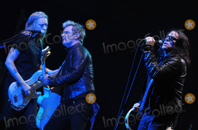Ian Astbury Photo - 03 June 2012 - Pittsburgh PA - Lead vocalist IAN ASTBURY guitarist BILLY DUFFY and bassist CHRIS WYSE of the legendary British rock band THE CULT perform at a stop on their 2012 US Tour to support their new album Choice of Weapon held at the Stage AE  Photo Credit Devin SimmonsAdMedia
