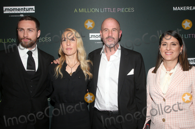 Aaron Taylor-Johnson Photo - 4 December 2019 - West Hollywood California - Aaron Taylor-Johnson Sam Taylor-Johnson James Frey Pamela Abdy Special Screening Of Momentum Pictures A Million Little Pieces held at The London Hotel Photo Credit FSAdMedia