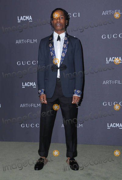 ASAP Rocky Photo - 29 October 2016 - Los Angeles California ASAP Rocky 2016 LACMA ArtFilm Gala honoring Robert Irwin and Kathryn Bigelow presented by Gucci held at LACMA Photo Credit Birdie ThompsonAdMedia