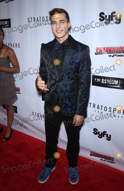 Cody Linley Photo - 31 July 2016 - Las Vegas Nevada -  Cody Linley  Sharknado The 4th Awakens movie premiere at the Stratosphere Casino Hotel and Tower  Photo Credit MJTAdMedia