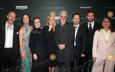 Aaron Taylor-Johnson Photo - 4 December 2019 - West Hollywood California - James Frey Juliette Lewis Odessa Young Sam Taylor-Johnson Aaron Taylor-Johnson Giovanni Ribisi Pamela Abdy Special Screening Of Momentum Pictures A Million Little Pieces held at The London Hotel Photo Credit FSAdMedia