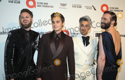 Antoni Porowski Photo - 09 February 2020 - West Hollywood California - Jonathan Van Ness Bobby Berk Antoni Porowski Tan France 28th Annual Elton John Academy Awards Viewing Party held at West Hollywood Park Photo Credit FSAdMedia
