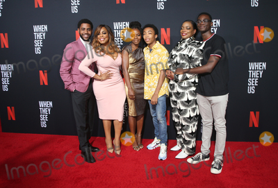 Aunjanue Ellis Photo - 11 August 2019 - Los Angeles California - Jharrel Jerome Niecy Nash Marsha Stephanie Blake Asante Blackk Aunjanue Ellis Ethan Herisse When They See Us for your consideration Los Angeles 2019 - Day 1 held at Paramount Theatre Photo Credit FSadouAdMedia