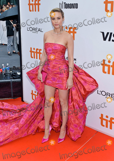 Brie Larson Photo - 06 September 2019 - Toronto Ontario Canada - Brie Larson 2019 Toronto International Film Festival - Just Mercy Premiere held at Roy Thomson Hall Photo Credit Brent PerniacAdMedia