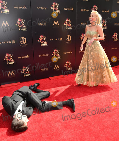 Aaron Kelly Photo - 05 May 2019 - Pasadena California - Ben Aaron Kellie Pickler 46th Annual Daytime Emmy Awards - Arrivals held at Pasadena Civic Auditorium Photo Credit Birdie ThompsonAdMedia