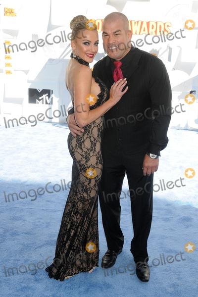 Nicole Miller Photo - 12 April 2015 - Los Angeles California - Amber Nicole Miller Tito Ortiz 2015 MTV Movie Awards - Arrivals held at Nokia Theatre LA Live Photo Credit Byron PurvisAdMedia