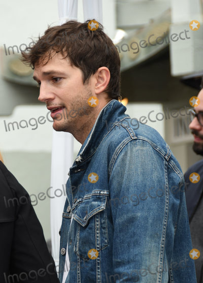 Ashton Kutcher Photo - 07 January 2019 - Hollywood California - Ashton Kutcher Sam Elliott Hand And Footprint Ceremony held at TCL Chinese Theatre Photo Credit Birdie ThompsonAdMedia