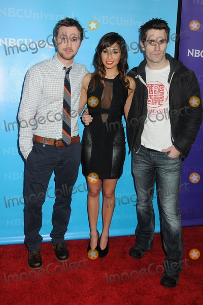 Meaghan Rath Photo - 6 January 2012 - Pasadena California - Sam Huntington Meaghan Rath and Sam Witwer NBCUniversal Press Tour All-Star Party held at The Athenaeum Photo Credit Byron PurvisAdMedia