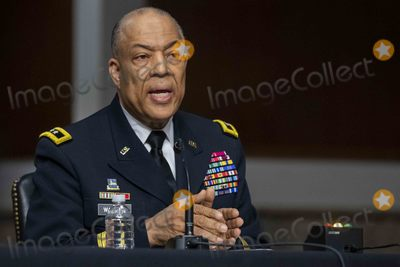 The Used Photo - Commanding General District of Columbia National Guard Major GeneralWilliam J Walker testifies before the Senate Homeland Security and Governmental AffairsRules and Administration hearing to examine the January 6 2021 attack on the US Capitol on Capitol Hill  in Washington DC USA 03 March 2021Credit Shawn Thew  Pool via CNPAdMedia