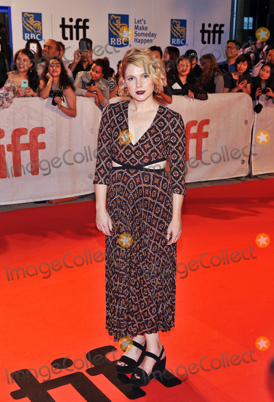 Amy Seimetz Photo - 15 September 2017 - Toronto Ontario Canada - Amy Seimetz  2017 Toronto International Film Festival - My Days Of Mercy Premiere held at Roy Thomson Hall Photo Credit Brent PerniacAdMedia