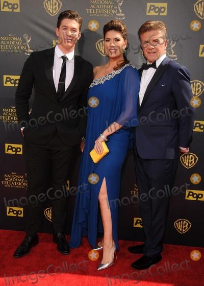 Alan Thicke Photo - 26 April 2015 - Burbank California - Carter Thicke Tanya Callau Alan Thicke The 42nd Annual Daytime Emmy Awards - Arrivals held at Warner Bros Studios Photo Credit Byron PurvisAdMedia
