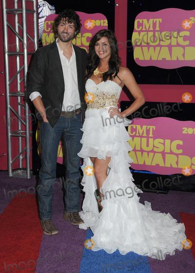 Paige Duke Photo - 06 June 2012 - Nashville Tennessee - Jeremiah James Korfe and Paige Duke 2012 CMT Music Awards held at Bridgestone Arena Photo Credit Laura FarrAdMedia