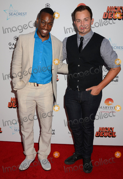 Noah Munck Photo - 20 May 2013 - Hollywood Ca - Cassius Crieghtney Noah MunckLos Angeles premiere of Nicky Deuce at ArcLight Theater in Hollywood CaPhoto Credit BirdieThompsonAdMedia