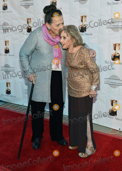 Alice Davis Photo - 01 February 2014 - Los Angeles California - Alice Davis and June Foray 41st Annual Annie Awards held at UCLAs Royce Hall Photo Credit Christine ChewAdMedia