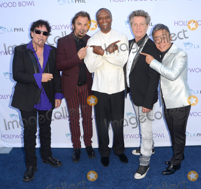 Arnel Pineda Photo - 20 June 2015 - Hollywood California - Neal SChon Jonathan Cain Thomas Wilkins Ross Valory Arnel Pineda Hollywood Bowl opening night featuring Journey held at The Hollywood Bowl Photo Credit Birdie ThompsonAdMedia